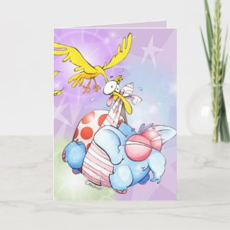 New baby celebration card. card