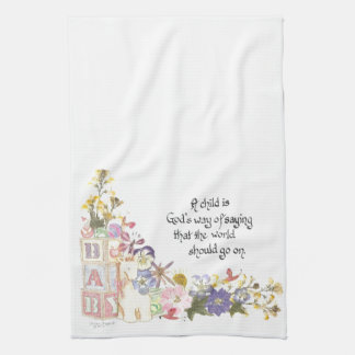 new baby gift kitchen towel