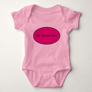 New Baby Girl Baby Bodysuit