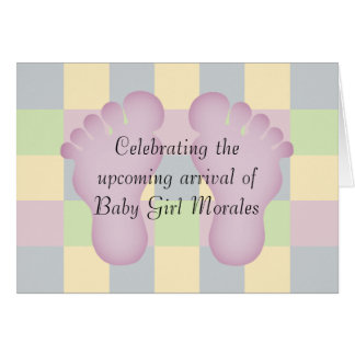 New Baby Girl Congratulations Greeting Cards