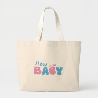 New Baby Large Tote Bag