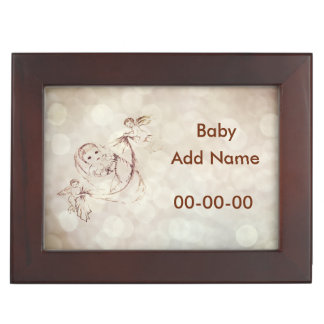 New Baby personalised Keepsake Box