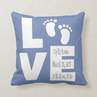 New Baby Pillow, Customized Throw Pillow