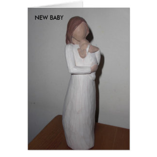 NEW BABY proud mum Card