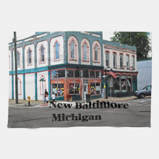 New Baltimore Michigan Kitchen Towel