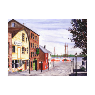 New Bedford, Cape Cod Canvas Print