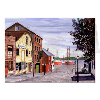 New Bedford, Cape Cod Card