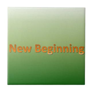 new beginning ceramic tile