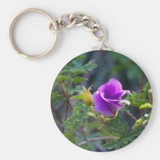 New Beginning_ Keychain_by Elenne Boothe Basic Round Button Keychain