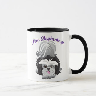 New Beginnings Happy Endings Mug