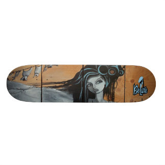 NEW Beluxe RUBYtuesday Skateboard Deck