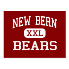 New Bern - Bears - High - New Bern North Carolina Postcard