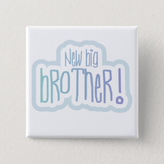 New Big Brother Tshirts and Gifts 2 Inch Square Button
