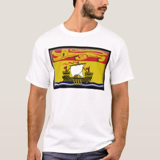 New Brunswick (Canada) Flag T-Shirt