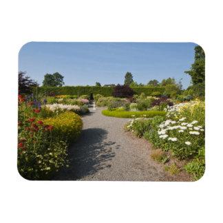 New Brunswick, Canada. Kingsbrae Garden in St. Rectangular Photo Magnet