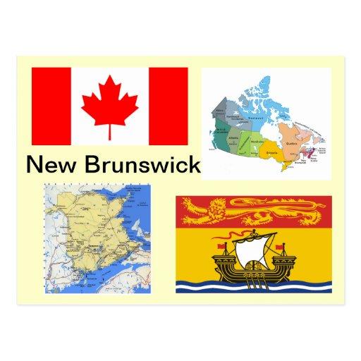 New Brunswick Canada Post Card