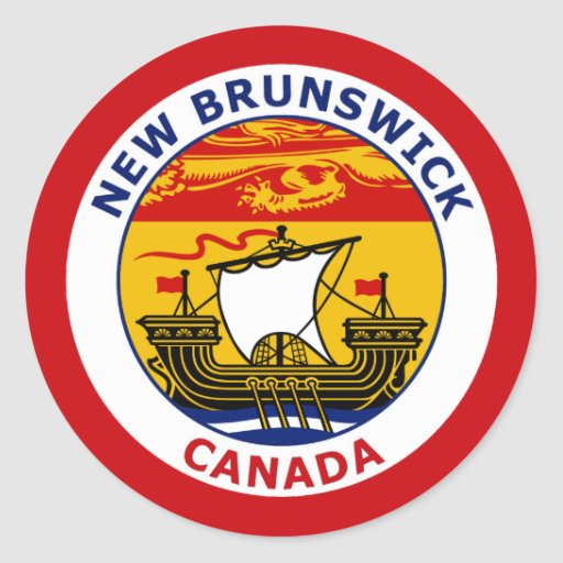 NEW BRUNSWICK, CANADA STICKER