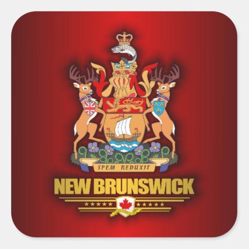 New Brunswick COA Stickers