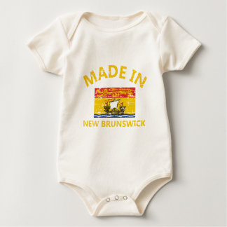 New Brunswick Coat of arms Baby Bodysuit