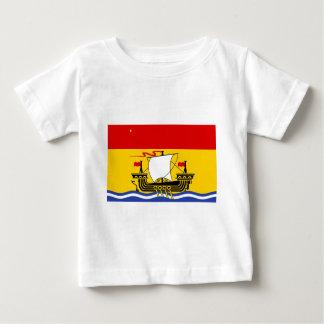 new-Brunswick Flag Baby T-Shirt