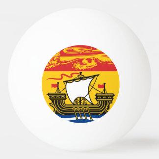 NEW BRUNSWICK Flag Ping Pong Ball