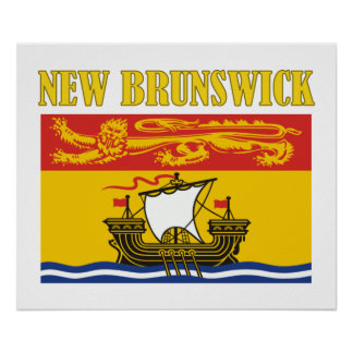New Brunswick-Flag Poster