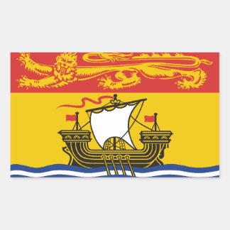 New Brunswick Flag Sticker