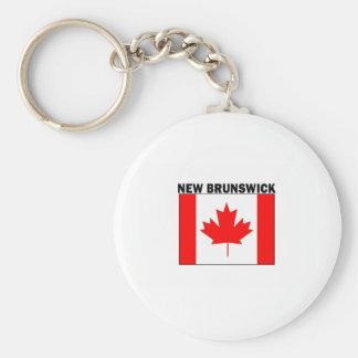 New Brunswick Keychain