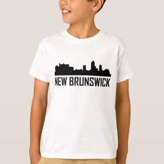 New Brunswick New Jersey City Skyline T-Shirt