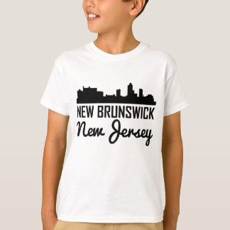 New Brunswick New Jersey Skyline T-Shirt