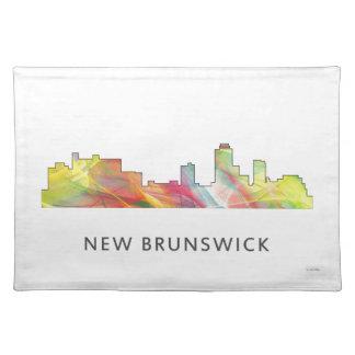 NEW BRUNSWICK, NEW JERSEY SKYLINE WB1 - PLACEMATS