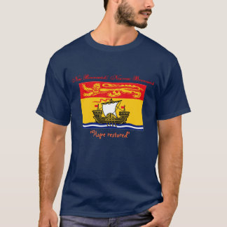 New Brunswick/ Nouveau-Brunswick T-shirt
