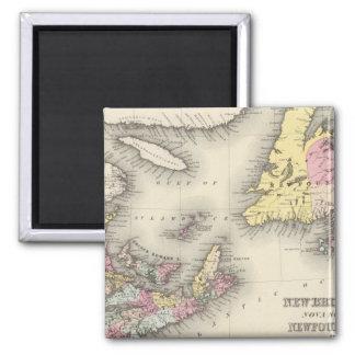 New Brunswick, Nova Scotia, Newfoundland Magnet