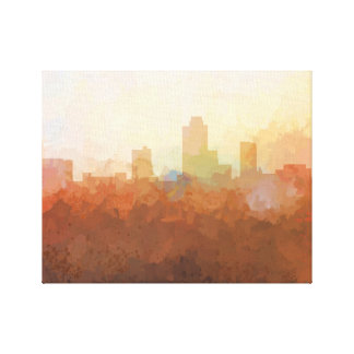 NEW BRUNSWICK SKYLINE-In the Clouds Canvas