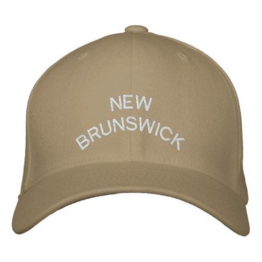 New Bruswick Baseball Cap Embroidered Canada Cap