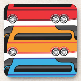 New Bus Drink Coaster
