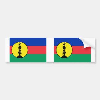 New Caledonia, Democratic Republic of the Congo Bumper Sticker