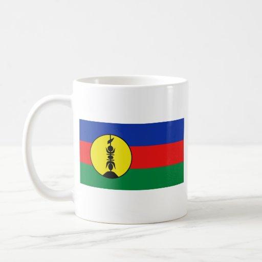 New Caledonia Flag ~ Map Mug