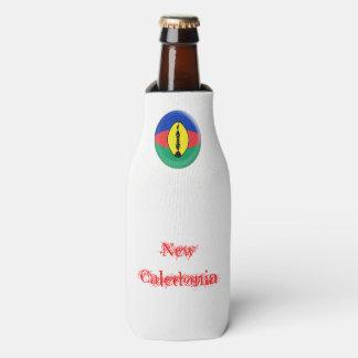 New Caledonia New Caledonian Flag Bottle Cooler