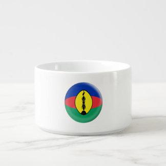 New Caledonia New Caledonian Flag Bowl