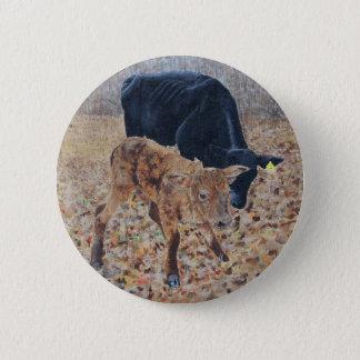 New Calf 2 Inch Round Button