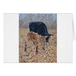 New Calf Card