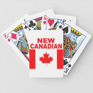 NEW CANADIAN BICYCLE PLAYING CARDS