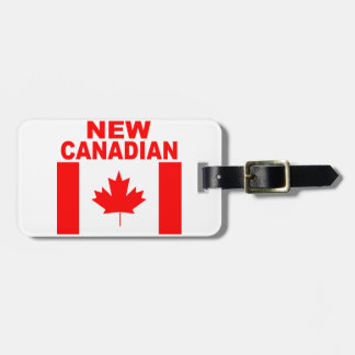 NEW CANADIAN LUGGAGE TAG
