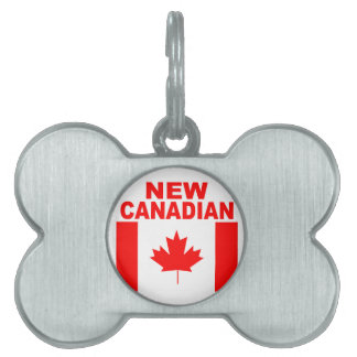 NEW CANADIAN PET NAME TAG