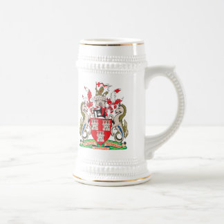 New Castle Upon Tyne Coat of Arms Beer Stein