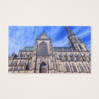 New Cathedral, Linz, Austria Business Card