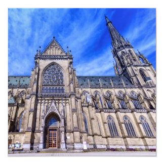 New Cathedral, Linz, Austria Card
