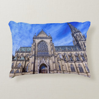 New Cathedral, Linz, Austria Decorative Pillow