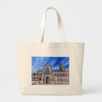 New Cathedral, Linz, Austria Large Tote Bag
